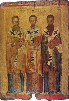 Αποτέλεσμα εικόνας για οι τρεις ιεράρχαι