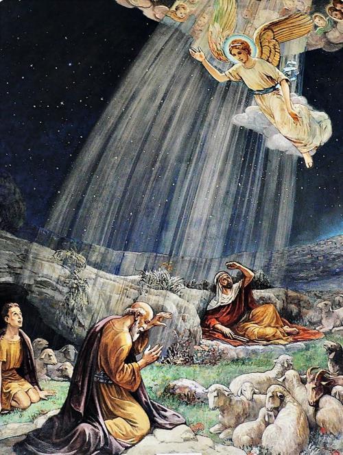 Άγγελος εις τους Πομένας